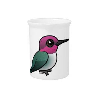 Birdorable Bee Hummingbird Beverage Pitcher