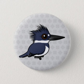 Birdorable Belted Kingfisher (male) Button
