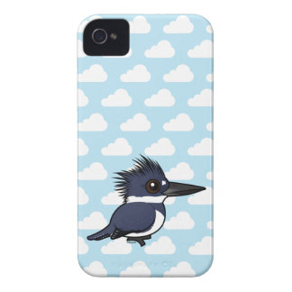 Birdorable Belted Kingfisher (male) iPhone 4 Case