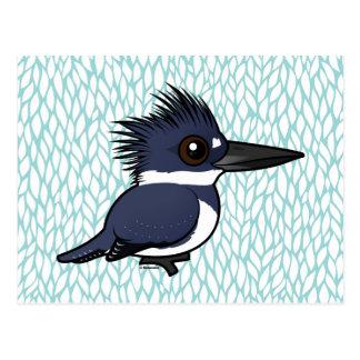 Birdorable Belted Kingfisher (male) Postcard