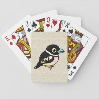 Birdorable Black-and-yellow Broadbill Card Decks
