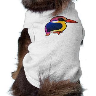 Birdorable Black-backed Dwarf-Kingfisher Pet Tee Shirt