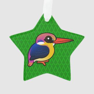 Birdorable Black-backed Dwarf-Kingfisher Ornament