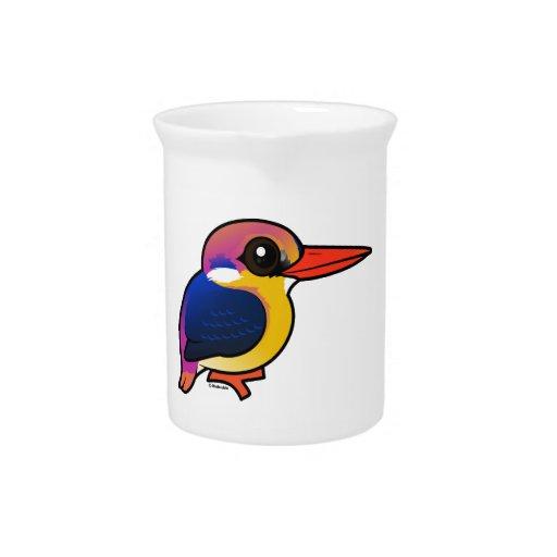 Birdorable Black-backed Dwarf-Kingfisher Pitcher