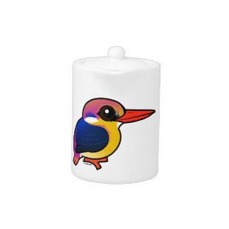 Birdorable Black-backed Dwarf-Kingfisher