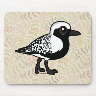 Birdorable Black-bellied Plover Mouse Pad