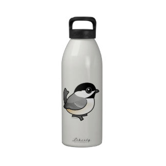 Birdorable Black-capped Chickadee Water Bottle