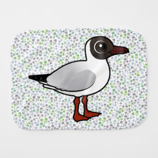 Birdorable Black-headed Gull Burp Cloth