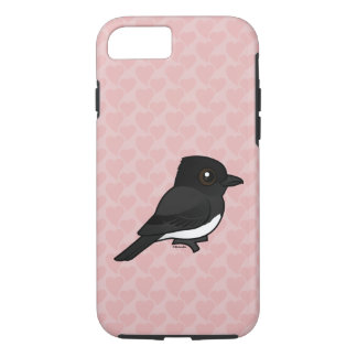 Birdorable Black Phoebe iPhone 7 Case
