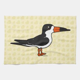 Birdorable Black Skimmer Kitchen Towels