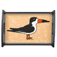 Black Skimmer Small Serving Tray