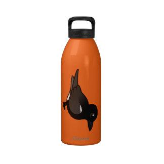 Birdorable Black Tern Reusable Water Bottle
