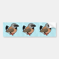Black-throated Finch Bumper Sticker