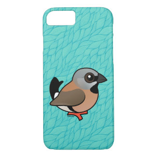 Birdorable Black-throated Finch iPhone 7 Case