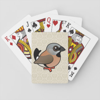 Birdorable Black-throated Finch Deck Of Cards