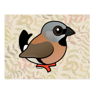 Birdorable Black-throated Finch Postcard