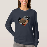 Black-throated Finch Women's Basic Long Sleeve T-Shirt