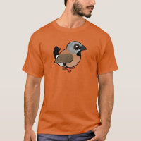Black-throated Finch Men's Basic Dark T-Shirt