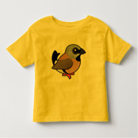 Black-throated Finch Toddler Fine Jersey T-Shirt