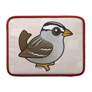 Birdorable Blanco-coronó el gorrión Funda Macbook Air