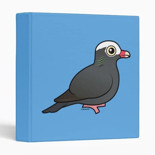 """Birdorable Blanco-coronó la paloma Carpeta 1"""""""