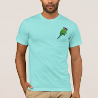 Blossom-headed Parakeet Men's Basic American Apparel T-Shirt