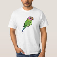 Blossom-headed Parakeet Men's Crew Value T-Shirt