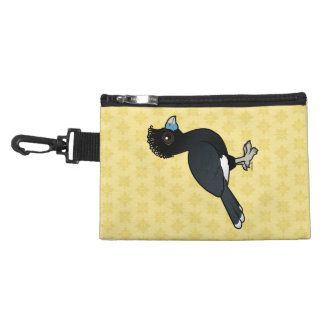 Birdorable Blue-billed Curassow Accessory Bags