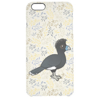 Birdorable Blue-billed Curassow Clear iPhone 6 Plus Case