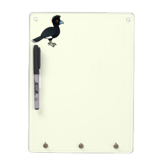 Birdorable Blue-billed Curassow Dry Erase Board
