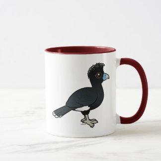 Birdorable Blue-billed Curassow Mug