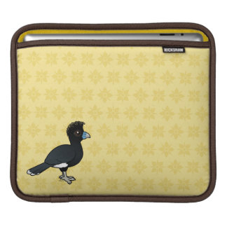 Birdorable Blue-billed Curassow Sleeves For iPads