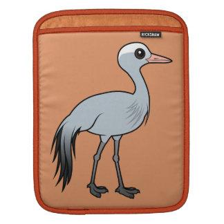 Birdorable Blue Crane iPad Sleeves