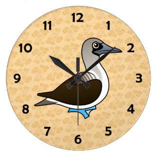 Birdorable Blue-footed Booby Wall Clock