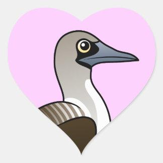 Birdorable Blue-footed Booby Heart Sticker