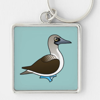 Birdorable Blue-footed Booby Keychain