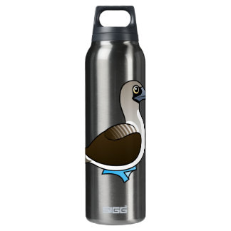 Birdorable Blue-footed Booby 16 Oz Insulated SIGG Thermos Water Bottle