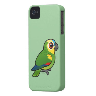 Birdorable Blue-fronted Parrot iPhone 4 Case
