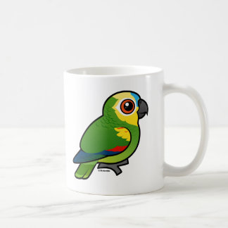 Birdorable Blue-fronted Parrot Coffee Mug