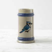 Birdorable Blue Jay Beer Stein