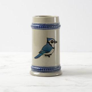 Birdorable Blue Jay Beer Stein