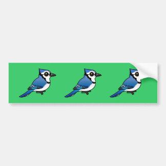 Birdorable Blue Jay Bumper Sticker