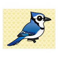 Birdorable Blue Jay Postcard