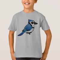 Birdorable Blue Jay Kids' Hanes TAGLESS® T-Shirt