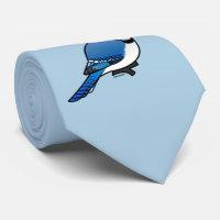 Birdorable Blue Jay Tie