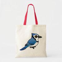 Birdorable Blue Jay Budget Tote