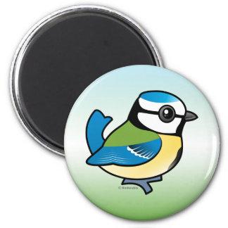 Birdorable Blue Tit 2 Inch Round Magnet
