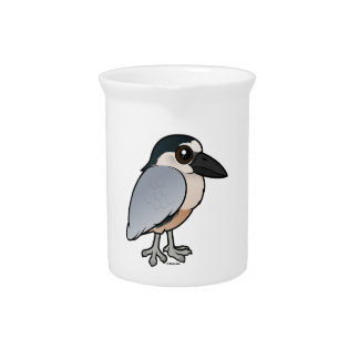 Birdorable Boat-billed Heron Beverage Pitcher