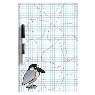 Birdorable Boat-billed Heron Dry-Erase Board