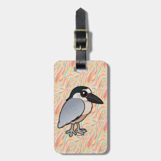 Birdorable Boat-billed Heron Luggage Tag
